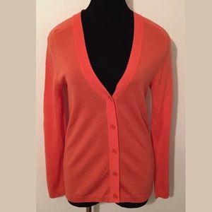 J.Crew Thin Cardigan Sweater Merino Wool  Size M